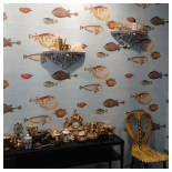 Our Work - Chelsea Harbour Cole and Son Showroom - Fornasetti II Collection